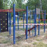 Ігор Молоток допоміг встановити 3 спортивні майданчика в Шостці (ФОТО)